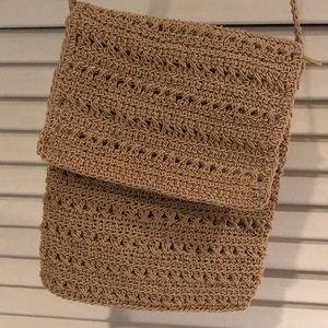Crochet purse. Great for spring
